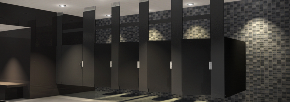 Bathroom Partitions Milwaukee solid partitions